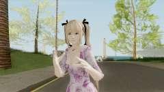 Marie Rose Purple Dress para GTA San Andreas