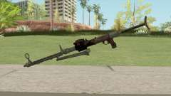 COD WW2 - MG-15 Anti-Aircraft MG (Default) para GTA San Andreas