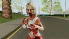 Zombie Cheerleader From Into The Dead para GTA San Andreas