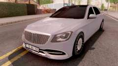 Mercedes-Maybach S-Class W222 para GTA San Andreas