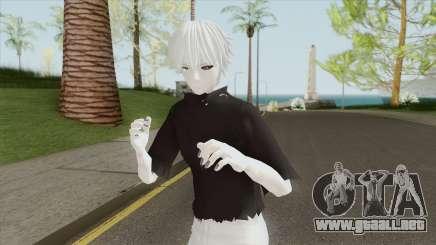 Kaneki Skin V8 (Tokyo Ghoul) para GTA San Andreas