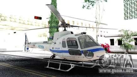 Bell 205 De La Policía para GTA San Andreas