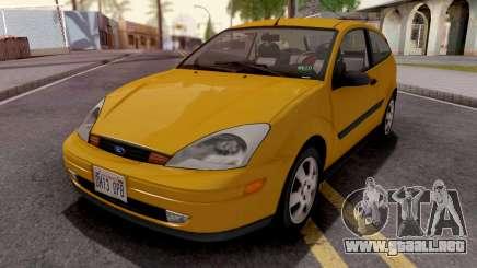 Ford Focus ZX3 2000 HQLM para GTA San Andreas