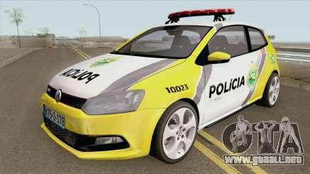 Volkswagen Polo PMPR para GTA San Andreas