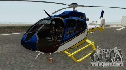 Eurocopter EC-120 PRF para GTA San Andreas