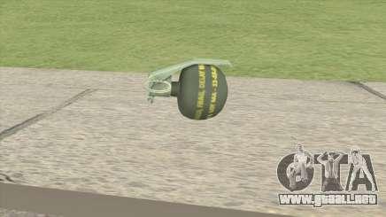 CS-GO Alpha HE Grenade para GTA San Andreas