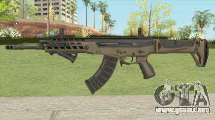 Warface AK-Alfa Desert (With Grip) para GTA San Andreas