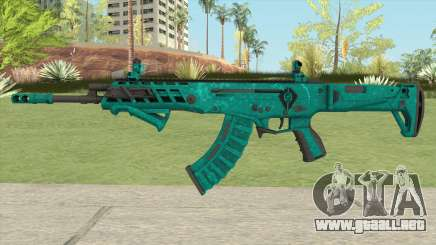Warface AK-Alfa Absolute (With Grip) para GTA San Andreas