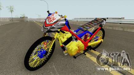 Satria FU Drag New para GTA San Andreas