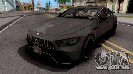 Mercedes-AMG GT63S 4-Door Coupe 2019 para GTA San Andreas