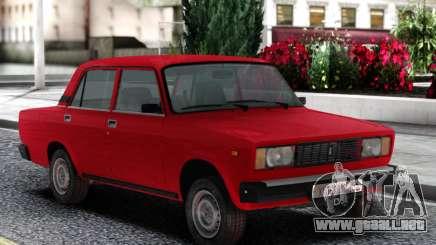 VAZ 2105 Sedán Rojo para GTA San Andreas