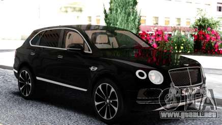Bentley Black Bentayga para GTA San Andreas