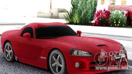 Dodge Viper  Red SRT-10 para GTA San Andreas
