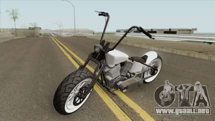 Zombie Bobber GTA V (Metal Oscuro) para GTA San Andreas