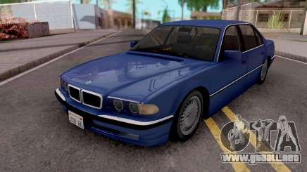 BMW 750i E38 1999 Tunable para GTA San Andreas
