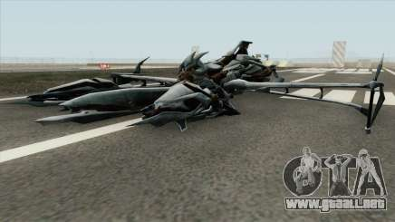 Transformers Megatron Jet 2007 para GTA San Andreas