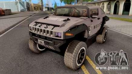 Transformers ROTF Nest Car para GTA San Andreas