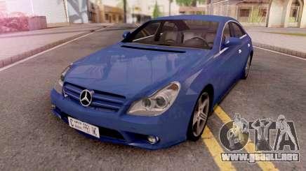 Mercedes-Benz CLS 63 Lowpoly para GTA San Andreas