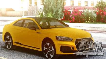 Audi RS5 Yellow para GTA San Andreas