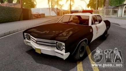 Declasse Tulip Police Car LAPD para GTA San Andreas