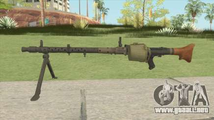 Day Of Infamy MG-34 para GTA San Andreas