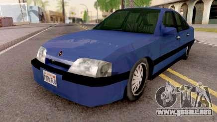 Opel Omega v4 SA Style GTA SA para GTA San Andreas