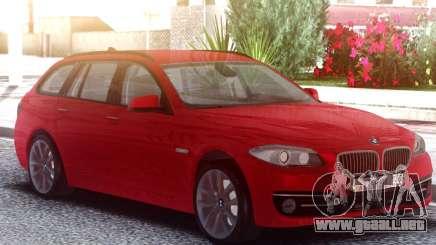 BMW 530D Touring Red para GTA San Andreas