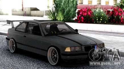 BMW E36 Grey para GTA San Andreas