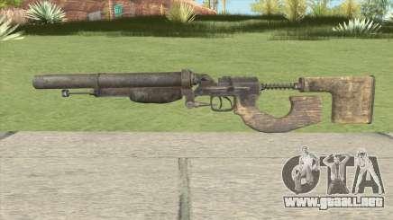 Escopeta Doble Metro 2033 para GTA San Andreas