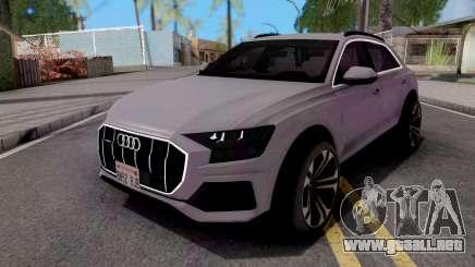 Audi Q8 2019 Grey para GTA San Andreas