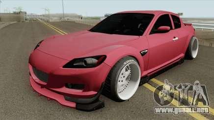 Mazda RX-8 Spirit R 2012 MQ para GTA San Andreas