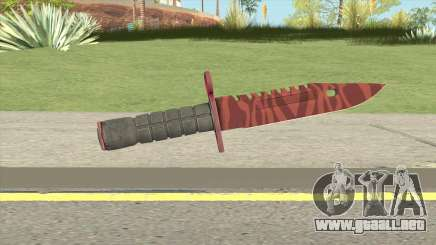 CS:GO M9 Bayonet (Slaughter) para GTA San Andreas