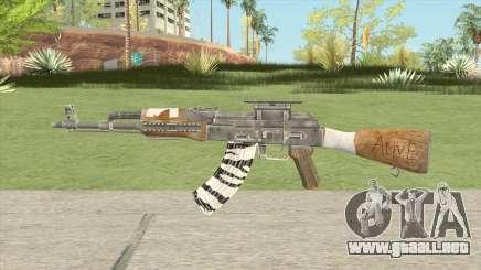Classic AK47 V2 (Tom Clancy: The Division) para GTA San Andreas