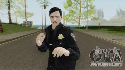GTA Online Skin V3 (Law Enforcement) para GTA San Andreas