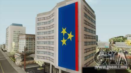 Vojvodina Flag on Building para GTA San Andreas