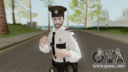GTA Online Skin V1 (Law Enforcement) para GTA San Andreas