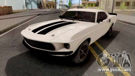 Ford Mustang Fastback 1969 Fast and Furious 6 para GTA San Andreas