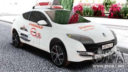 Renault Megane RS de la escuela de Conducción para GTA San Andreas