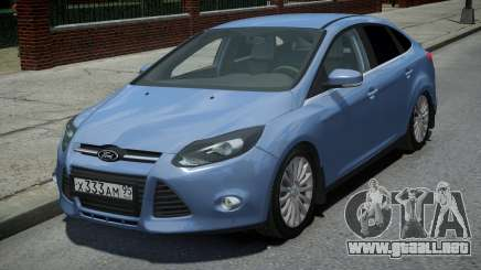 Ford Focus 3 Sedan para GTA 4
