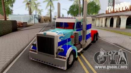 Transformers Ultra Magnus v2 para GTA San Andreas