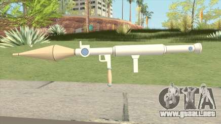 Rocket Launcher (Little Witch Academia) para GTA San Andreas