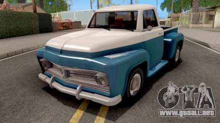 Ford F-100 Deluxe Pickup 1954 Slamvan Style para GTA San Andreas