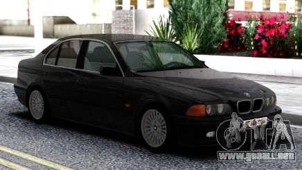 BMW 540i E39 Black para GTA San Andreas