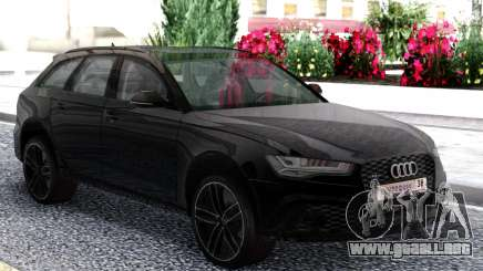 Audi RS6 Travel Black para GTA San Andreas