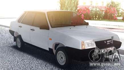 VAZ 21099 Sedán Blanco para GTA San Andreas
