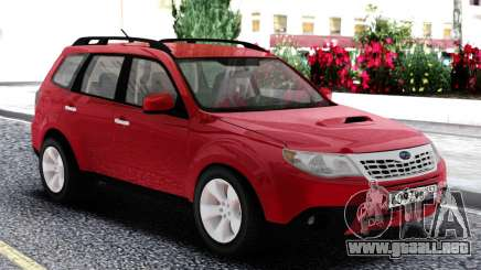 Subaru Forester XT Red para GTA San Andreas