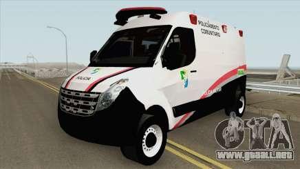 Renault Master (Base Movel PMSE) para GTA San Andreas