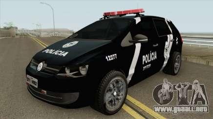 Volkswagen Spacefox 2012 (PMPR) para GTA San Andreas