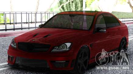 Mercedes-Benz C63 AMG Cherry para GTA San Andreas