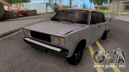 VAZ 2107 Aze PITBUL para GTA San Andreas